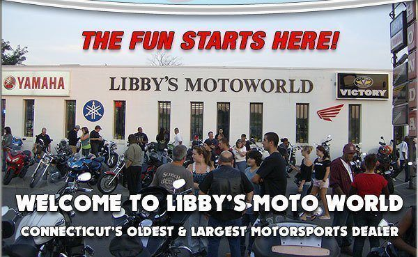 Welcome to Libby's MotoWorld in New Havent, CT